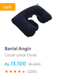 bantal angin