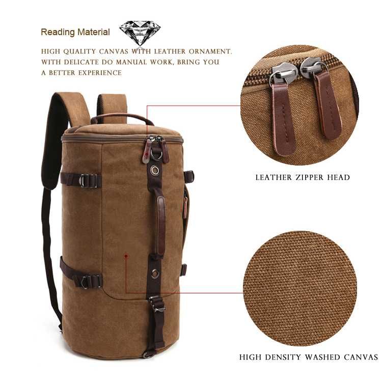 Tas Ransel Barrel Mountaineering