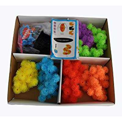 Mainan Edukasi Bunchems Thorn Ball Clusters 400Pcs