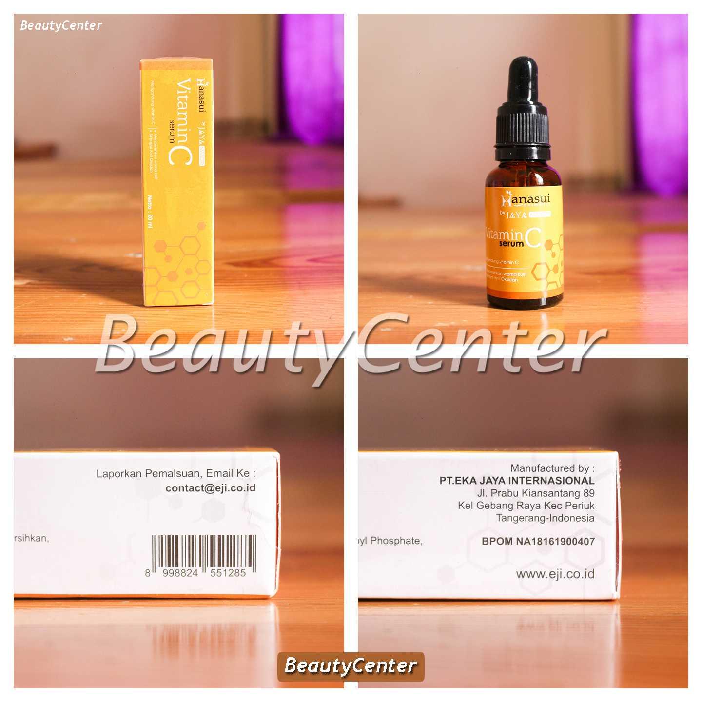 Jual Bpom New Serum Vitamin C Hanasui Dus Kuning Hanasuiii
