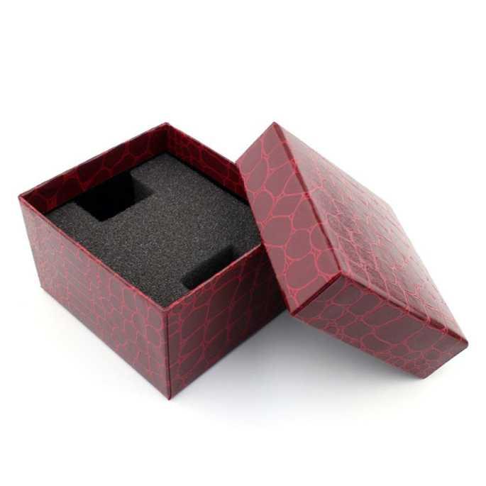 Kotak Jam Tangan Motif Kulit