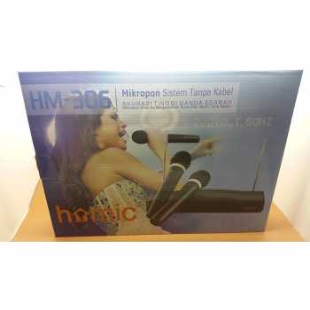 Mic Microphone Microfone Wireless Karaoke HOMIC Best Quality