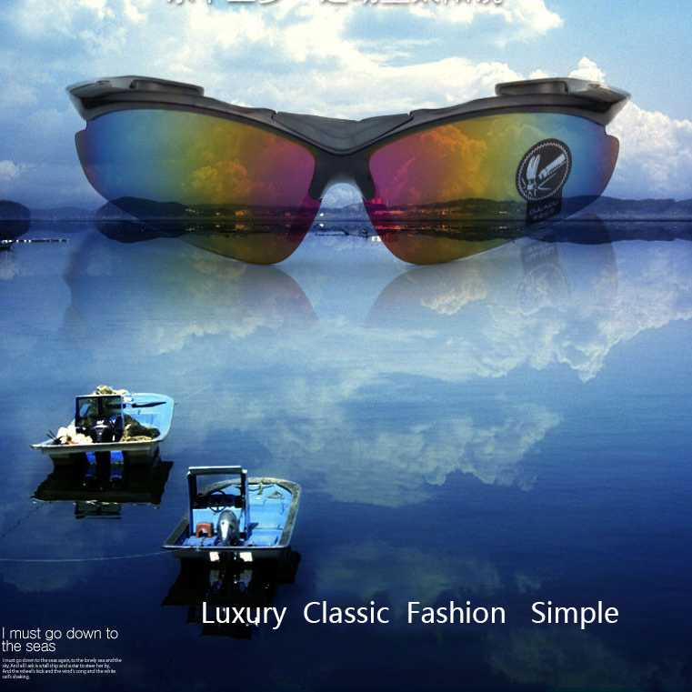 Kacamata Sepeda Lensa Mercury - 0091