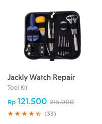 jackly watch kit