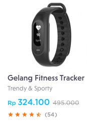 gelang fitness tracker