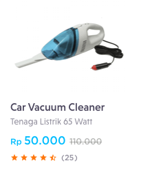 car vacuum cleaner