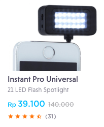 led flash spotlight