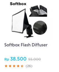 softbox flash diffuser