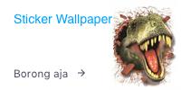 stiker wallpaper