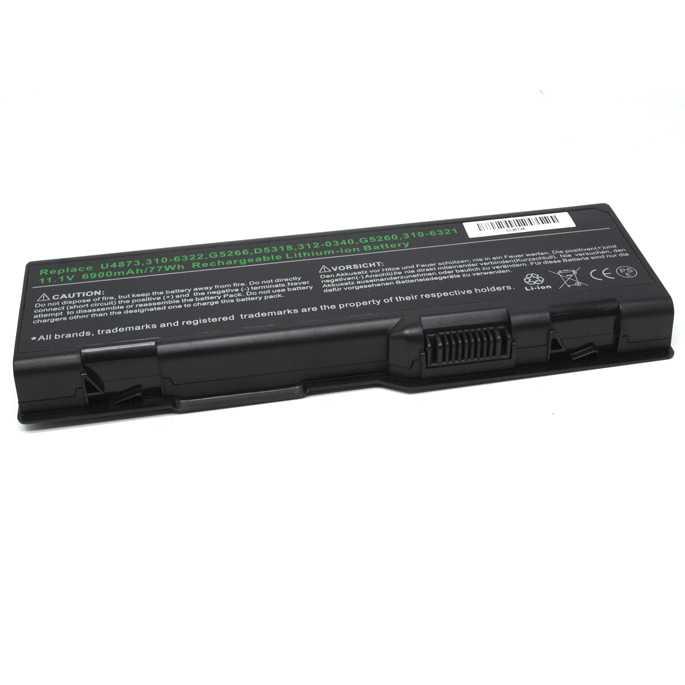 Baterai Dell Inspiron 6000 9200 E1705 M6300 Lithium Ion High Capacity