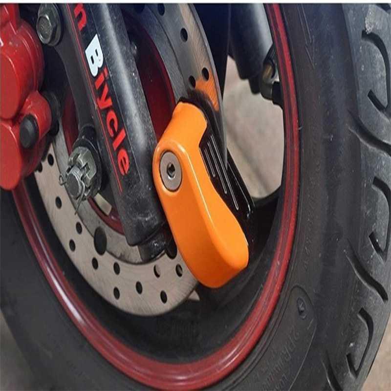 Gembok Cakram Motor dan Sepeda dengan Alarm