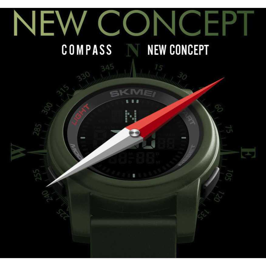 SKMEI Jam Tangan Kompas Digital Pria - 1289