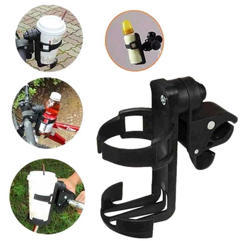 Rotateable Holder Botol Minum Sepeda Stroller Kereta Bayi