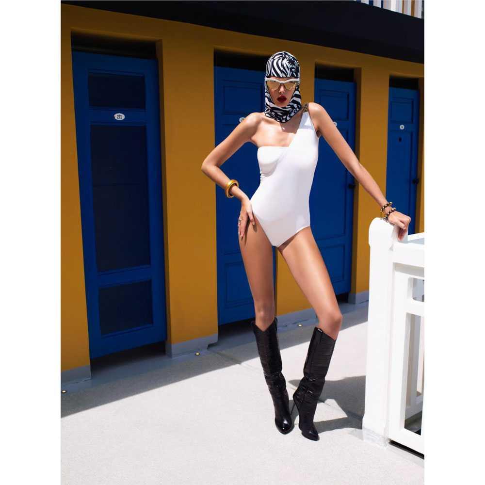 Facekini Topi Renang Topeng Full Face Model Animal