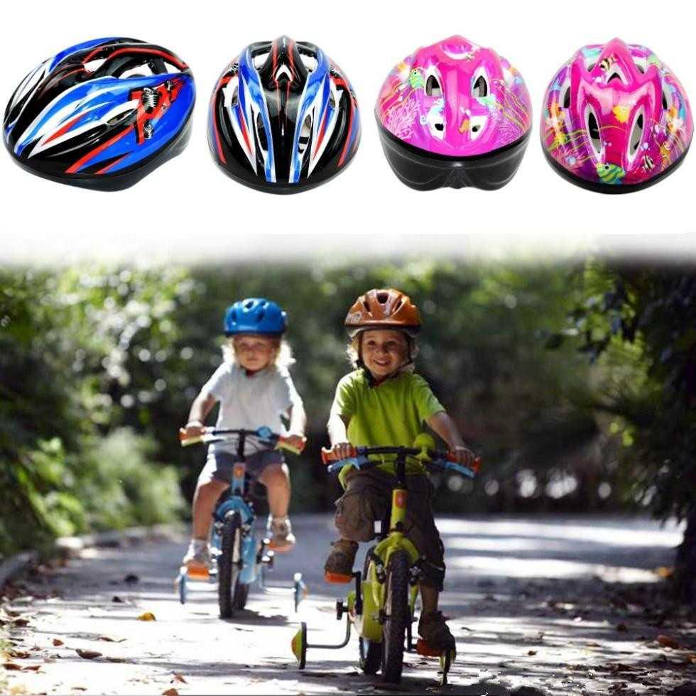 KUYOU Helm Sepeda Anak 3-8 Tahun