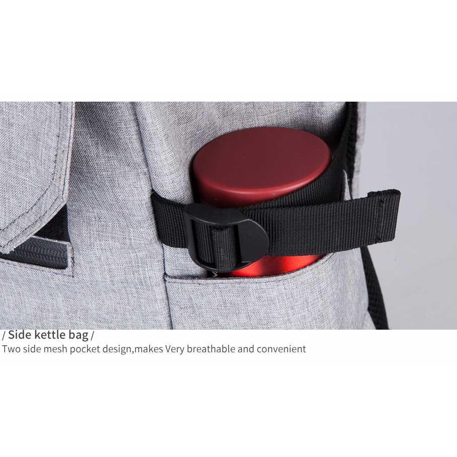 Tas Ransel Laptop dengan USB Charger Port