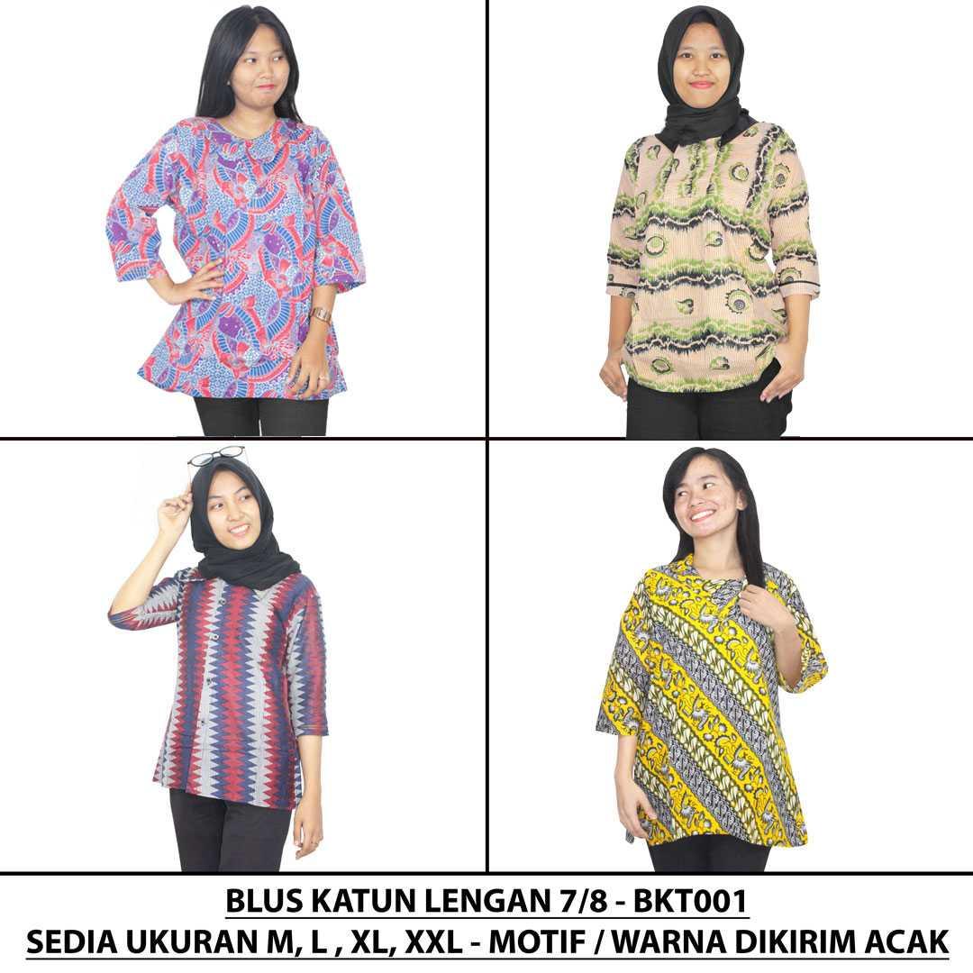 Batik Alhadi Stelan Celana Kulot 34 Printing Spt001 13b Update 3 4 Print 14 Source Blus Katun Lengan 7 8 Wanita Kantor Bkt001