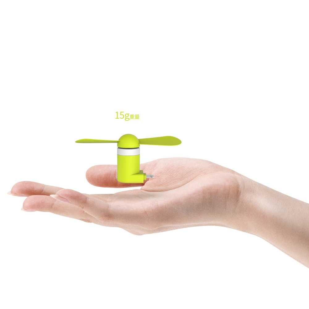 WSKEN Kipas Mini Portable Micro USB & Lightning