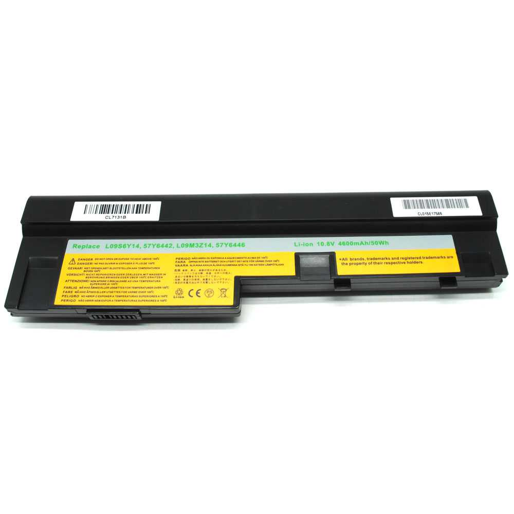 Baterai Lenovo IdeaPad S10-3 U165 S205 U160 High Capacity - Black