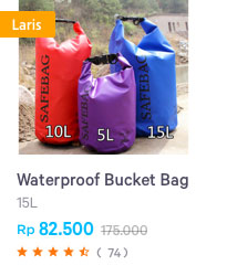 7 waterproof bucket bag
