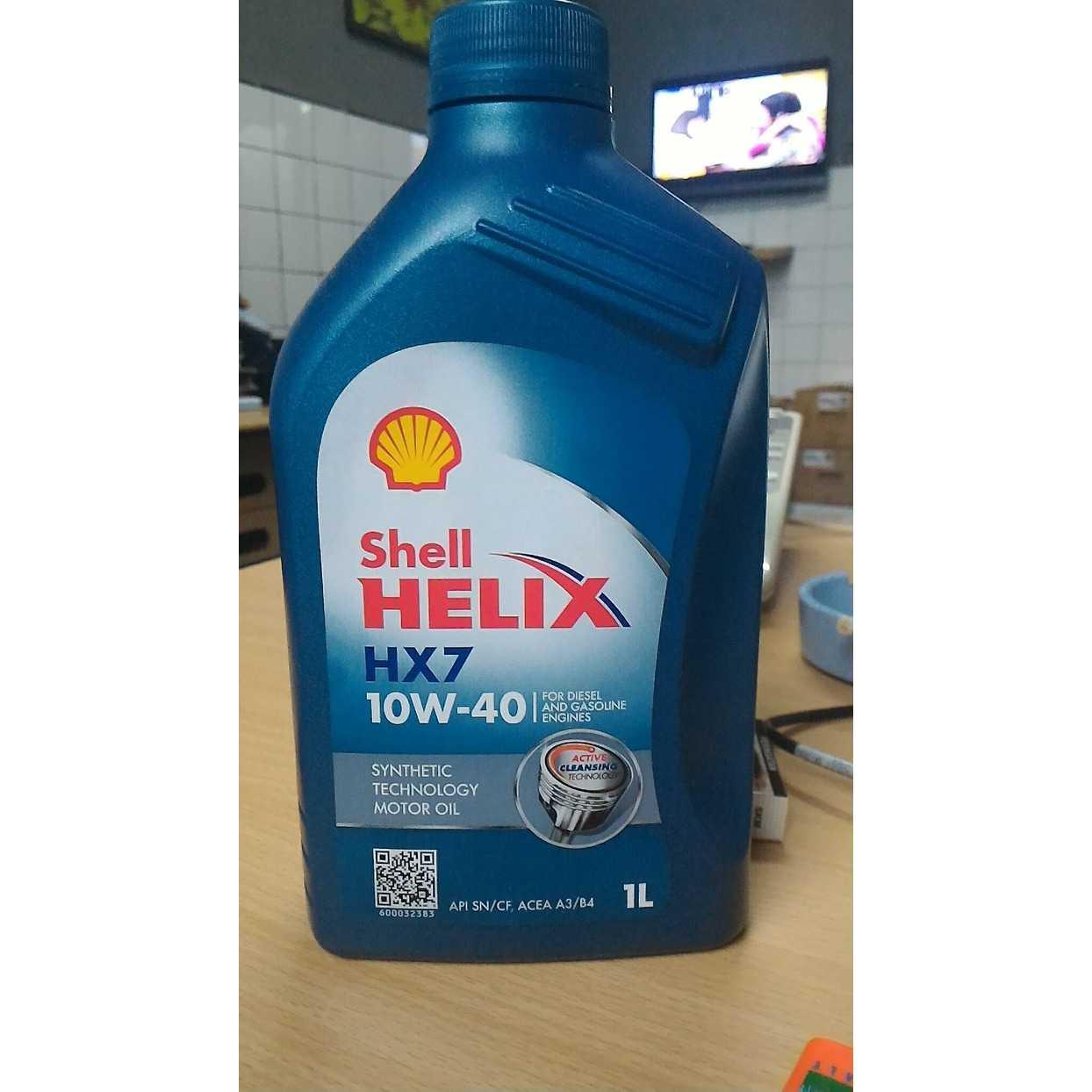 Oli Shell HX7 SAE 10w 40