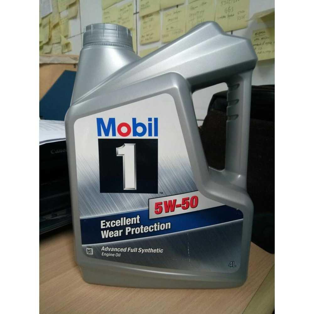 Jual Oli Mobil 1 SAE 5W50 API SN Kemasan Galon 4 Liter Mumer