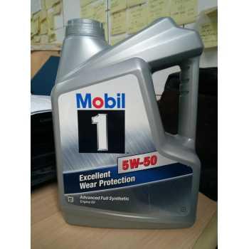 Oli Mobil 1 SAE 5W50 API SN Kemasan Galon 4 Liter Mumer