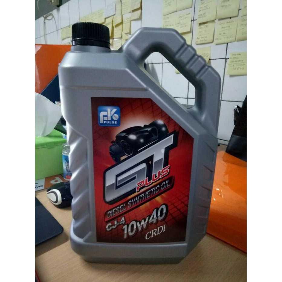Oli FK Massimo GT Plus Diesel Synthetic Oil CRDi 10W 40 CJ 4 Galon