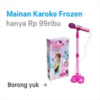 mainan karoke frozen