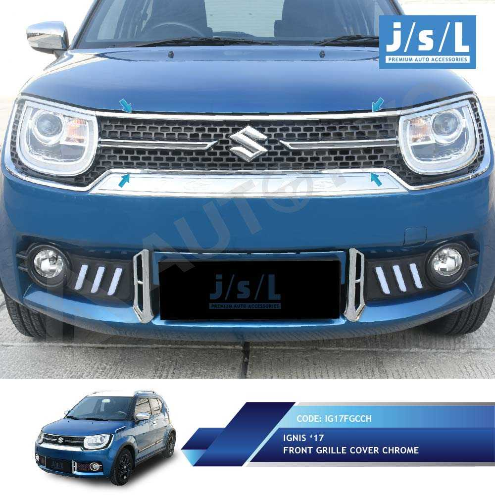 Jual Suzuki Ignis List Cover Grill Depan JSL/Front Grille Cover | Jakmall.com