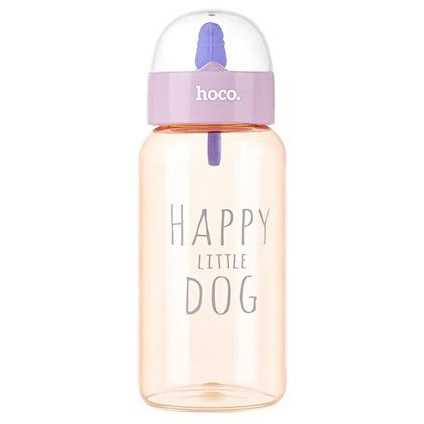 HOCO CP6 Botol Minum Happy Little Dog 450ml