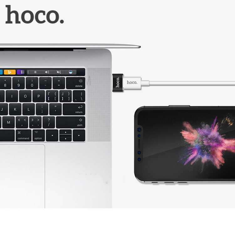 HOCO UA6 USB Type A to USB Type C Adapter Converter