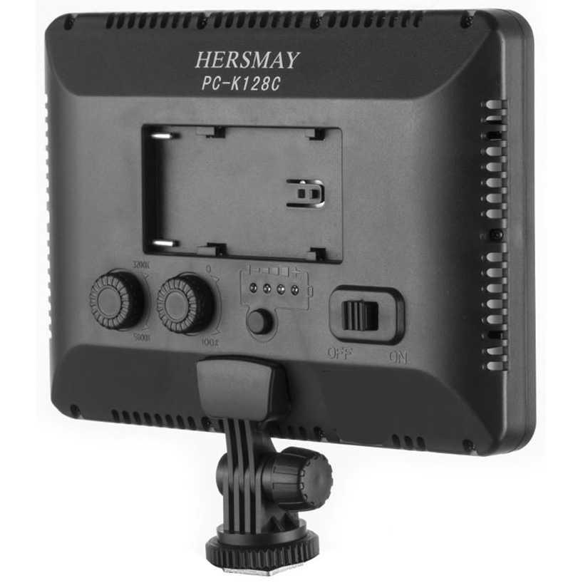 Hersmay Professional Photography LED Flashlight 3200k-5600k - PC-K128C