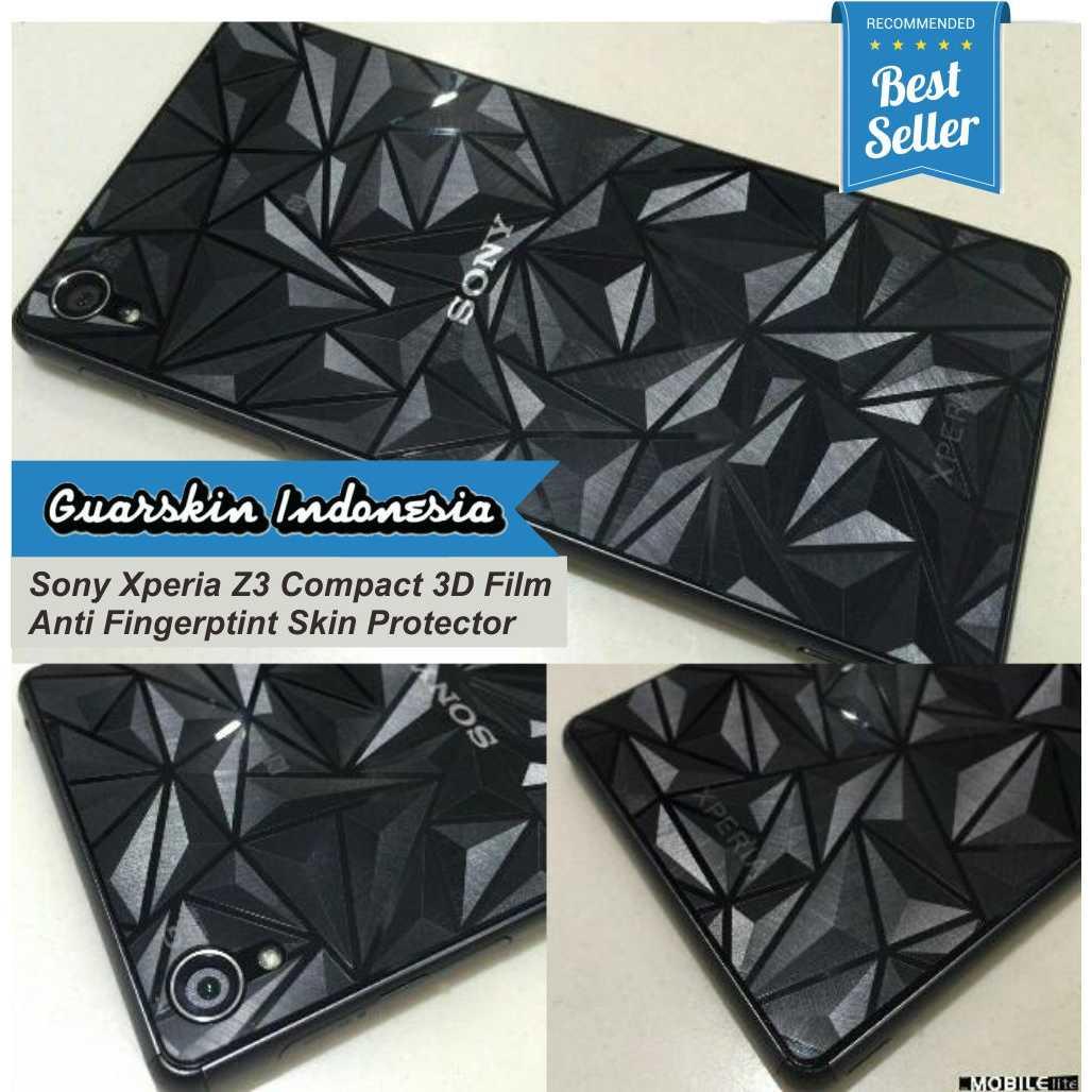 Guarskin Indonesia Hansfree Sony Xperia Series Merah Skin Garskin Diamond Clear To Case Z1 Z2 Z3 Compact Docomo