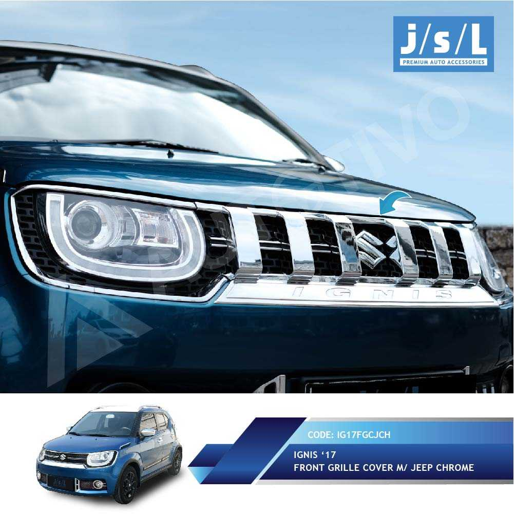 Jual Suzuki Ignis Grille Depan Model Jeep/Front Grille Cover M/ | Jakmall.com