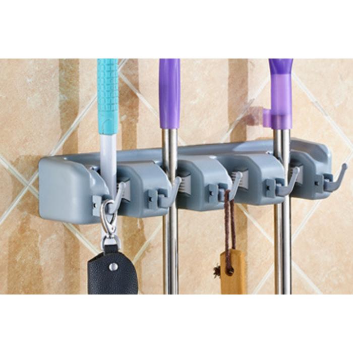 Jual Magic hanging mop holder mop hanger 3 gantungan sapu & alat | Jakmall.com