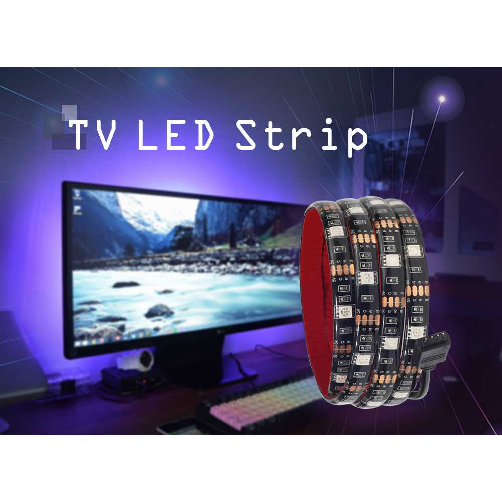 Led Strip 5050 RGB 1M with USB Controller