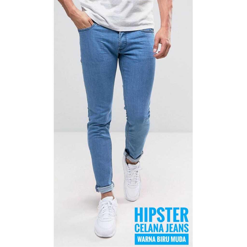 Dections Celana Jeans Panjang Pria Biru Muda Daftar Harga Terbaru Lois Original Skinny Ssk325g 28 Garsel
