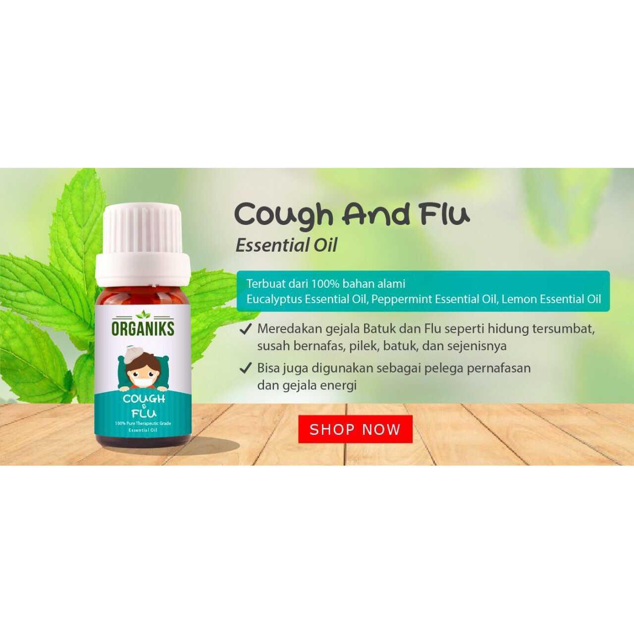 Jual Minyak Aroma Therapy Esensial Oil Batuk Pilek Cough Essential Terapi