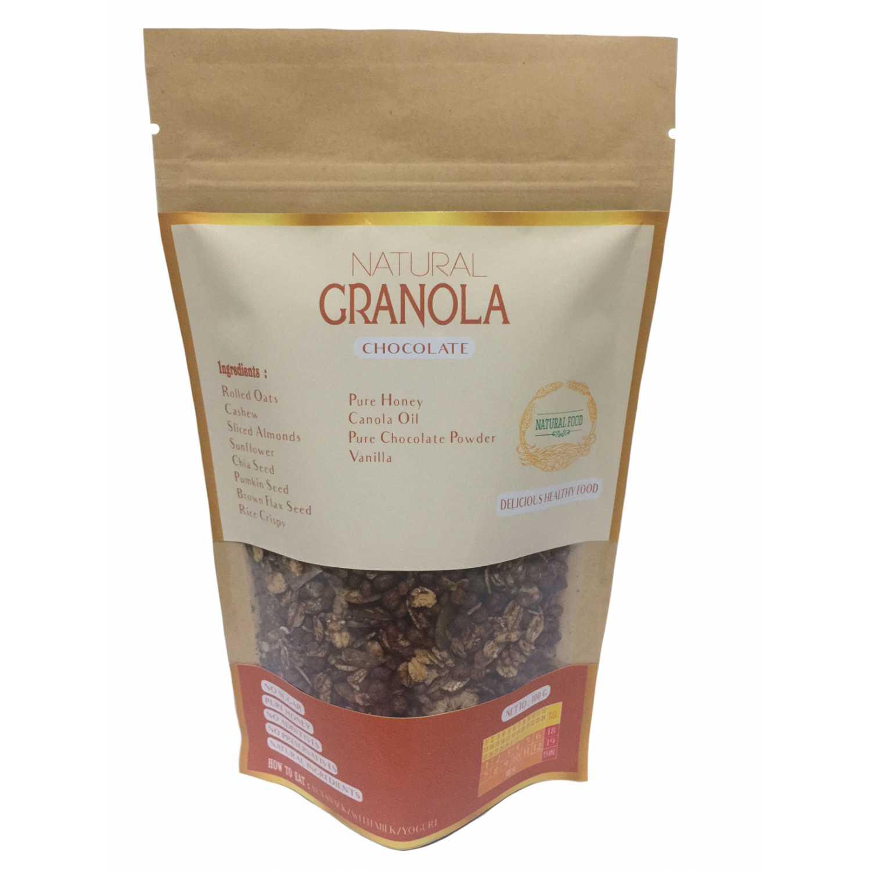 Jual Natural Granola Variasi Rasa 100 Gr Chocolate