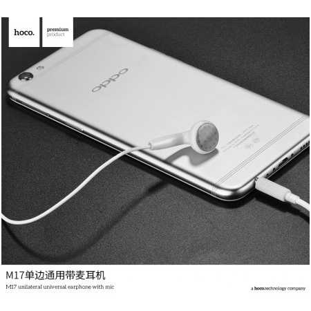 HOCO M17 Single Earphone with Mic