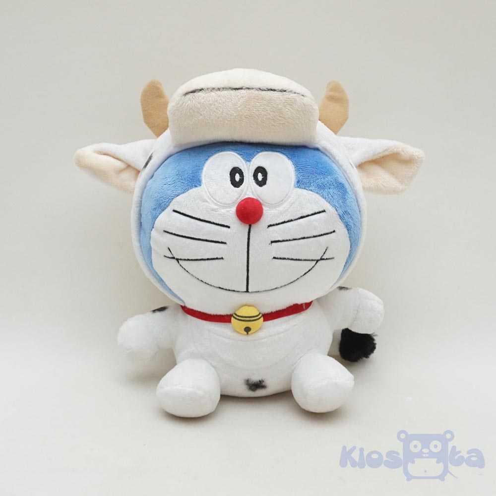 Jual Boneka Doraemon Kostum Shio Sapi Kerbau Chinese New Year Maainan Doraemoon Kyutt