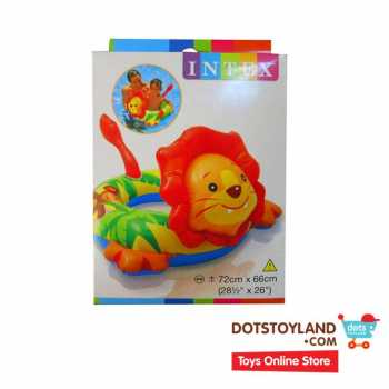 INTEX Pelampung Anak/Ban Renang Lion Big Animal Rings 58221