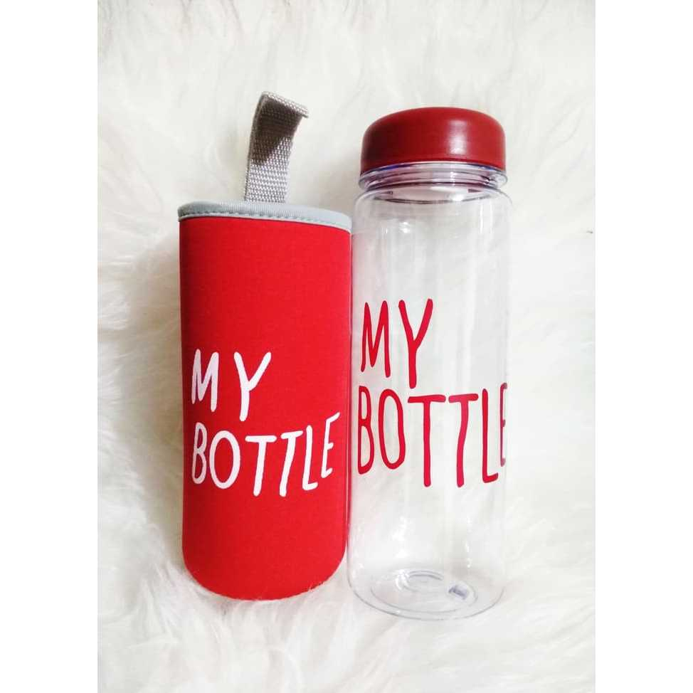 Jual My Bottle Infused Water Pouch Merah Boutle