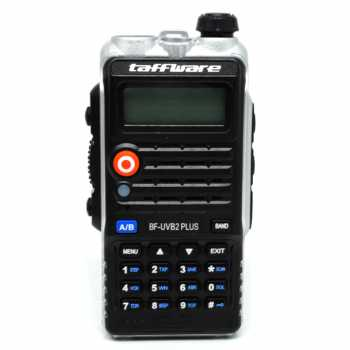 Taffware Pofung Walkie Talkie Dual Band 8W 128CH - BF-UVB2 Plus