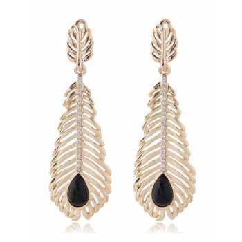 LRC Anting Gantung Sweet Feather Pendant Decorated Tassel Earring   Shopee Indonesia. Source · LRC