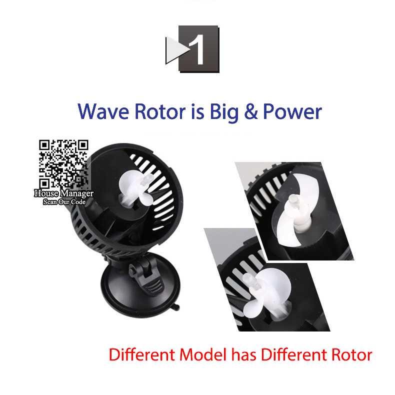 Pompa Air Ombak Akuarium Wave Maker Pump 6W