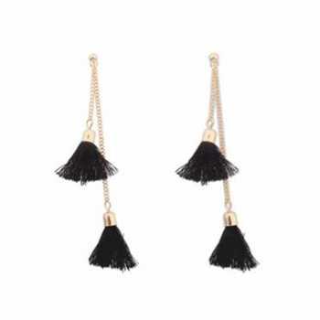 anting panjang rumbai bohemian tassel earrings jan139