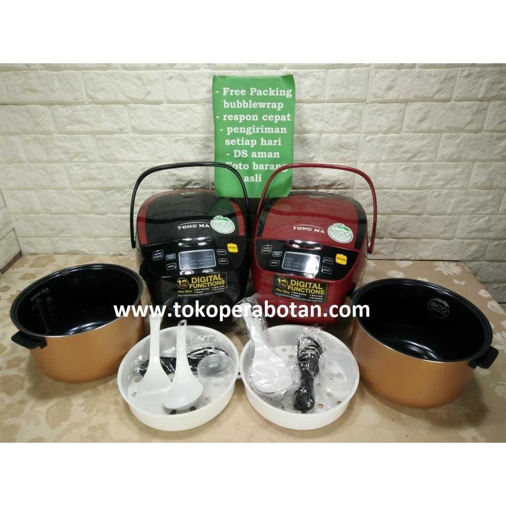 Harga Dan Spek Yongma Magic Update 2018 Yong Ma Mc 3480 Rice Cooker Black Tinum Jual Com Digital 12in1 Ymc 801