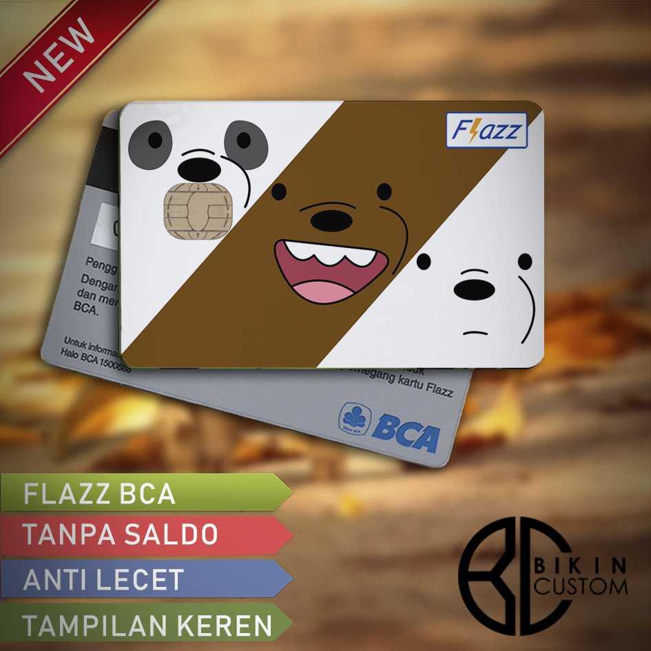 Jual Flazz Bca Custom Design Bears 1 Kartu E Commerce Saldo 0